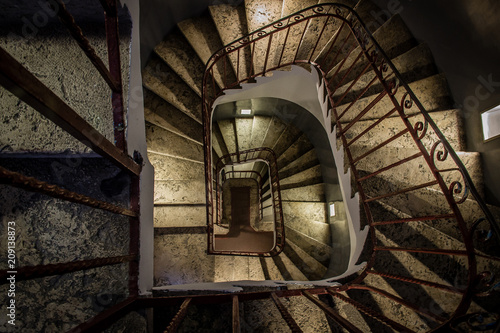 Horror staircase