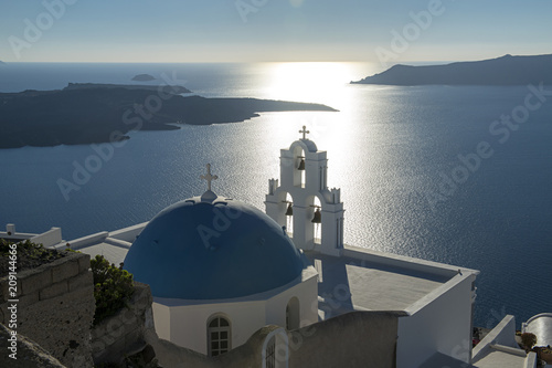 Aluminium Santorini Three Bells of Thera