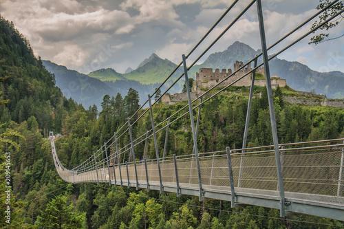 Hängebrücke bei Reutte, Tirol
