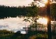 Summer sunset in Finland (Film sample)