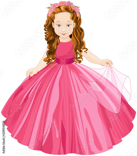 Aluminium Meisjeskamer Cute Princess