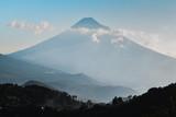 Daylight view volcano