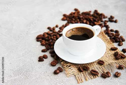 Cup of coffee - 209173286