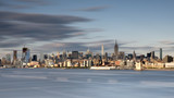 New york city skyline daytime sun clouds blue - 209178444