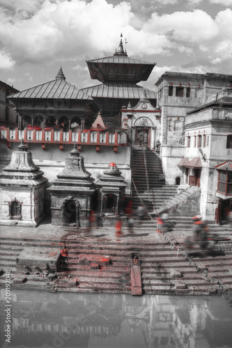 Fotobehang Aap Pashupatinath Temple