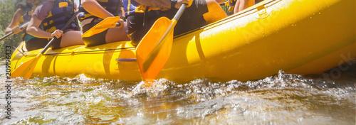 Fotobehang Galyna A. Rafting