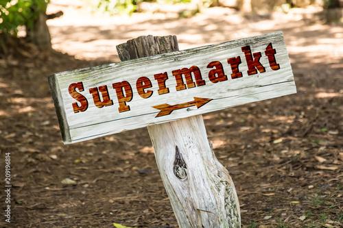 Schild 263 - Supermarkt