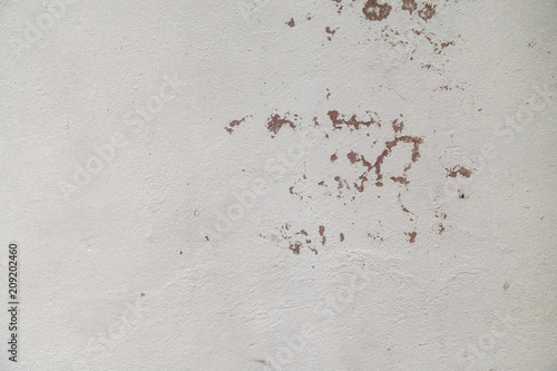 Canvas Betonbehang White peeling off concrete wall