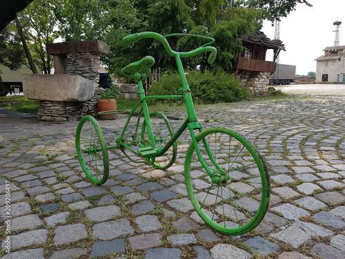 Plexiglas Fiets bicycle