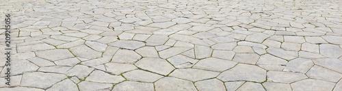 Schönes mittelalterliches Strassenpflaster - 209215056