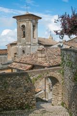 Vicolo nel vecchi borgo di Roccantica in Lazio © Buffy1982