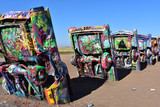 Cadillac Ranch in Amarillo Texas on Route 66