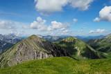 Gipfeltout Fleischbank, Karwendelgebirge, Eng Austria