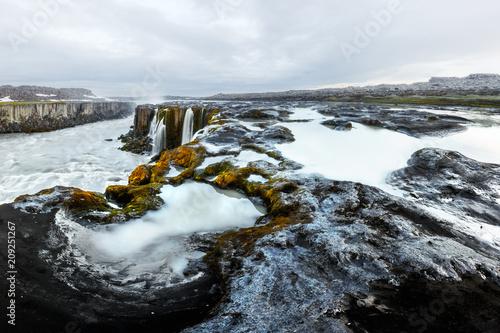 Famous Selfoss waterfall, Jokulsargljufur National Park, Iceland - 209251267