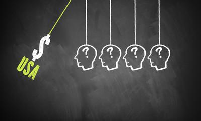 US-Zölle treffen auf Menschen und lösen Kettenreaktion aus