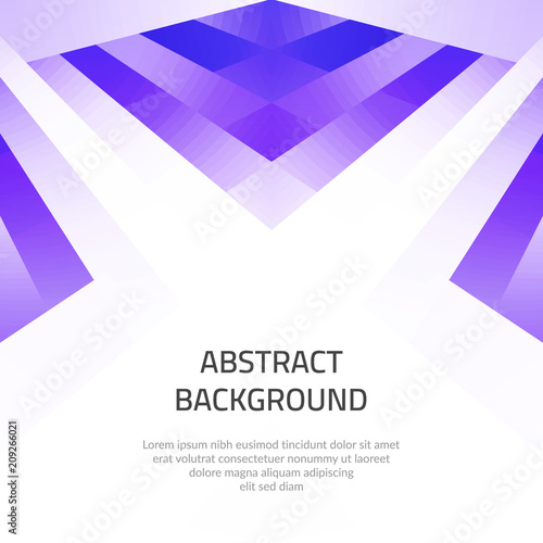 Abstract background with geometric shapes. Space for text.