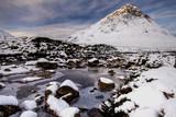 Scottish Mountain in Winter