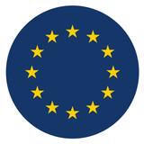 europe circle icon - 209281699