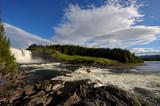Tännforsen Wasserfall in Schweden