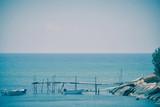 Sea, pontoon and boats - 209318215