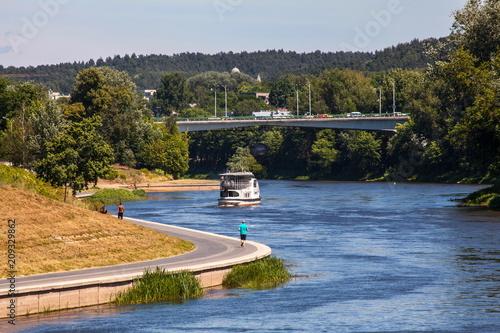Foto Murales Neris River near Vilnius