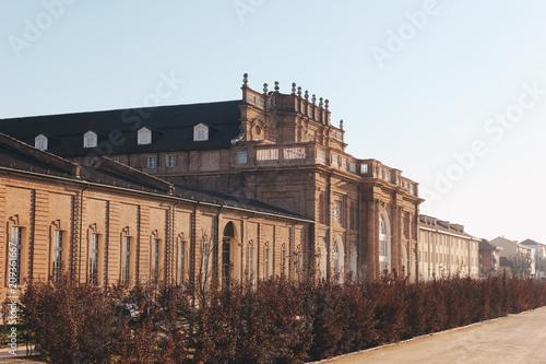 Foto Murales Venaria Turin - Italy Dec 2011 - Venaria reale Italy. June 2017. The Royal Palace of Venaria. UNESCO heritage
