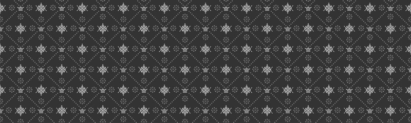 seamless damask wallpaper - dark background © PETR BABKIN