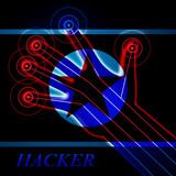 Hackers Means North Korean Data Crime 3d Illustration - 209370203