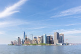 Panoramic view of Lower Manhattan, New York City, USA. - 209370683