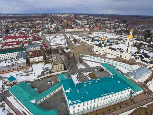 Fridge magnet  The Tobolsk Kremlin is the first stone Kremlin in Siberia