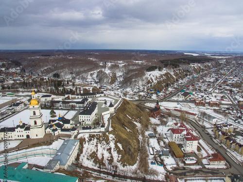The Tobolsk Kremlin is the first stone Kremlin in Siberia