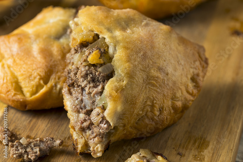 Homemade Upper MIchigan Pasty Meat Pie