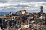 Anghiari - beautiful medieval village in Tuscany, Italy - 209395225