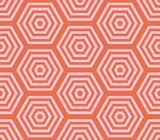 Abstract hexagon geometric seamless pattern. Mosaic background. Vector illustration. - 209396625
