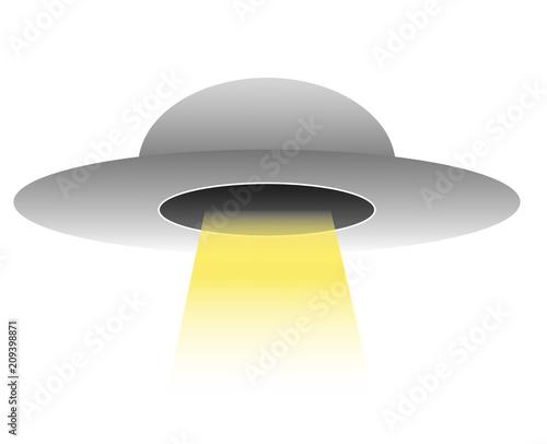Aluminium UFO UFO illustration