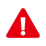 Attention sign icon. Warning symbol. Exclamation mark icon. alert sign with exclamation mark symbol. - 209418630