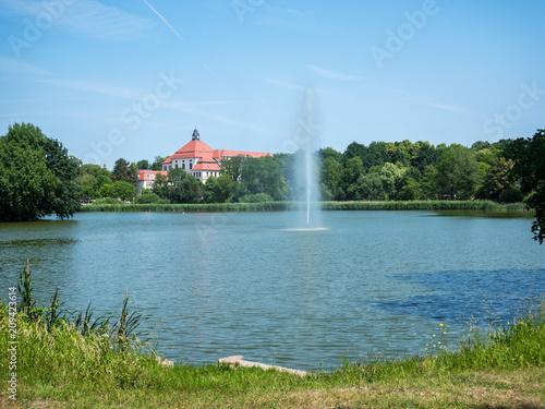Foto Murales Parkanlage Am Breiten Teich in Borna