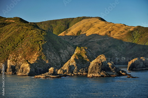 Impressive scenery of New Zealand