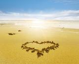 Herz am Strand - 209435867