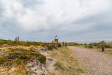 Hiking path towards Sylt-Kampen Lighthouse / Germany - 209436891