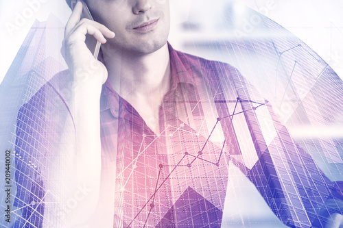 Finance and communication concept - 209440002