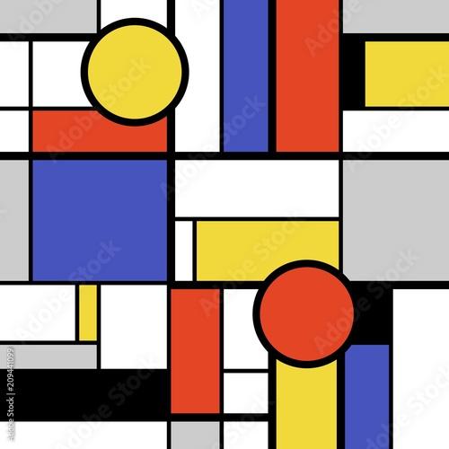 Geometric bold art © Tupungato