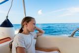 Little girl on boat - 209451001