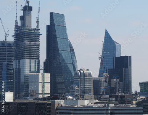 Fotobehang London City of London skyline