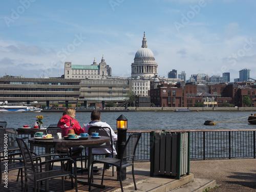 Foto Murales River Thames in London