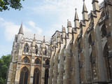 Westminster Abbey church in London - 209454427