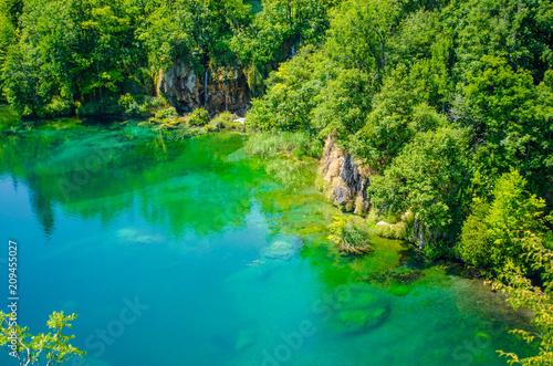 plitvice lakes landscape - 209455027
