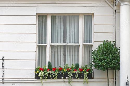 Foto Murales Window in London