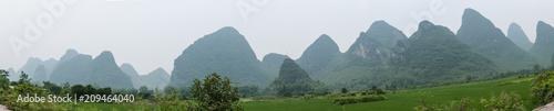 Aluminium Guilin Carst mountains china