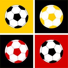 Fußball Pop-Art